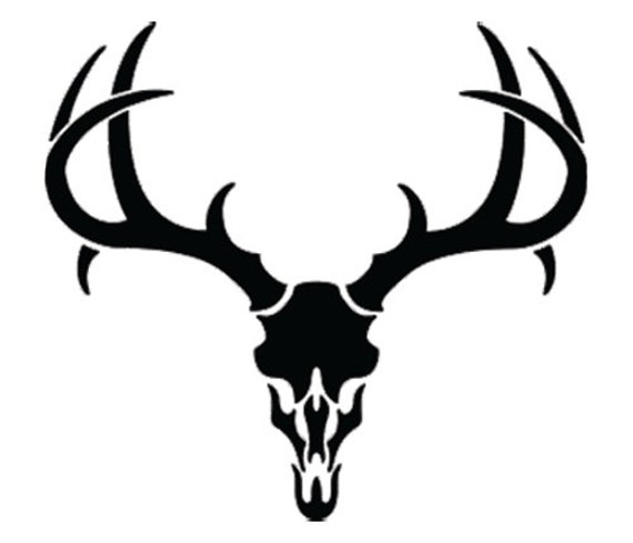 deer skull coloring pages - photo#4