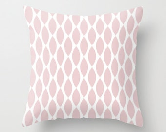 Pink Pillow Cover, Ikat Pillow, Girls Room Decor, Dorm Decor, Pink Cushion, Velvet Pillow, Pink Throw Pillow, Velvet Cushion, 18x18, 22x22