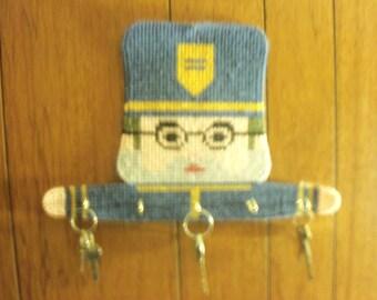 A cop key holder