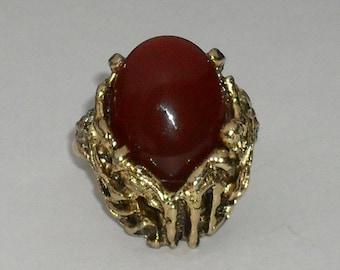 Vintage VOGUE Gold Filled Adjustable Ring