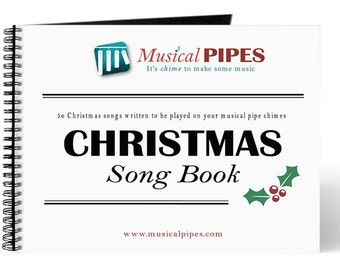 Pipe Chime Christmas Music Song Book (Printed)