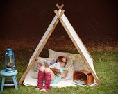 Cover ONLY - Children A Frame Play Reading Tent and Photo Prop Teepee - Christmas Gift