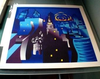 "McCall ""Philadelphia"" Limited Edition Fine Art Print from Original"