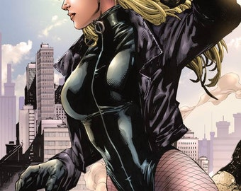 Made-to-Order Custom Black Canary Leotard