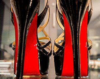 Colored Shoe Sole Kit DIY Red Bottom Slip Resistant Shoe