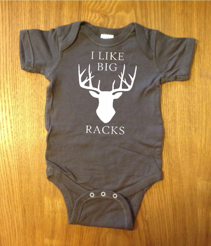Funny I Like Big Racks Baby Deer Hunting One Piece Boobs Cute