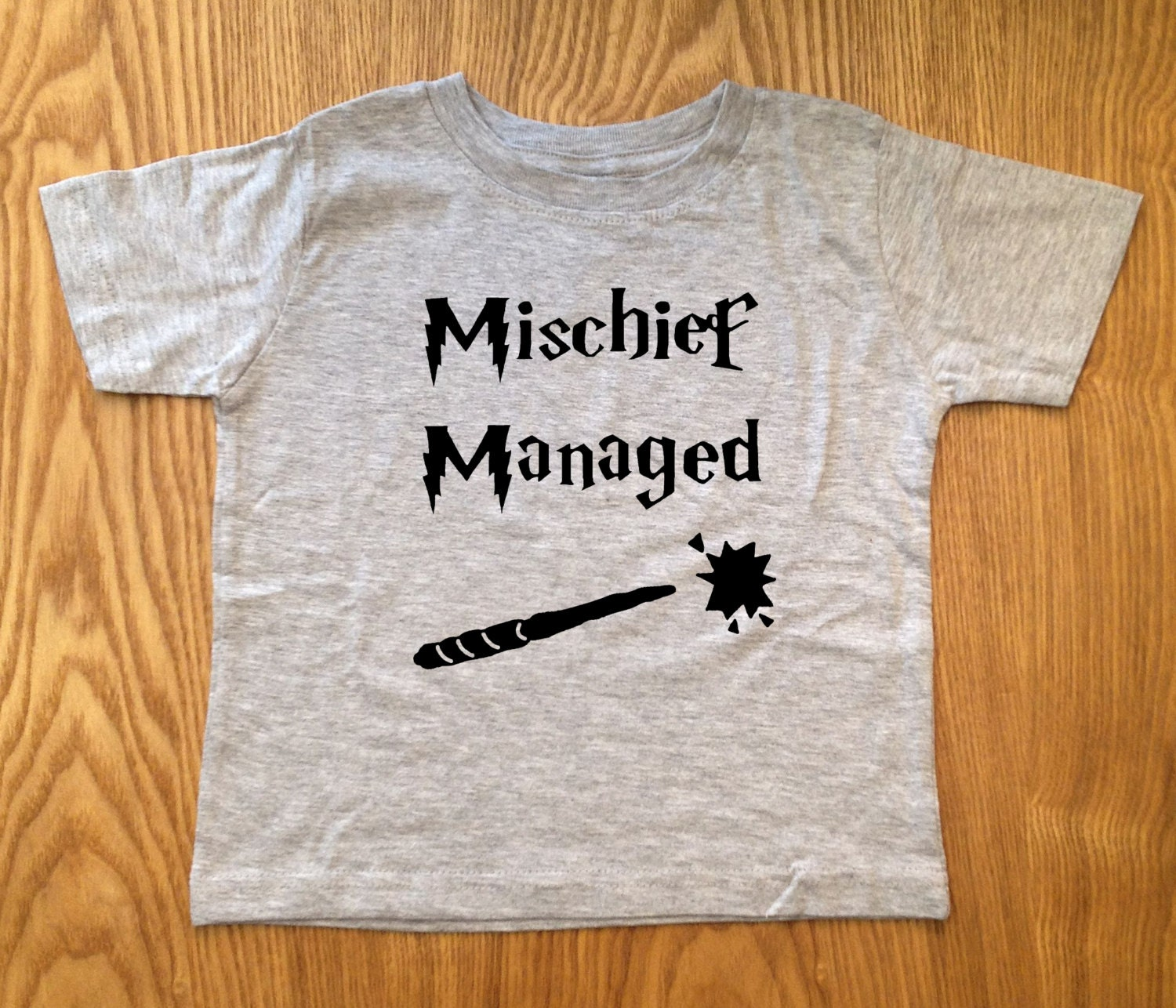 Cute and Funny MISCHIEF MANAGED Harry Potter Childrens Shirt