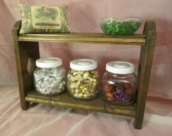 Primitive Jar Shelf ~ Stained