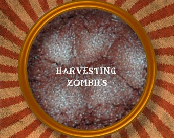 Harvesting Zombies Gothic Mineral Eye Shadow-Handmade in the USA