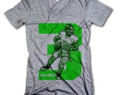 Russell Wilson NFLPA Officially Licensed Seattle Seahawks Womens Scoop Neck S-XL Wilson 3