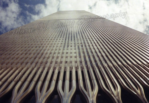 One of The Former World Trade Centers in New York City, New York!  Digital Copy