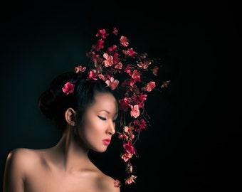 Cherry Blossom Girl, Fine Art Print