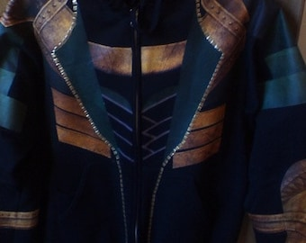 50% Off, This Week Only - Loki Hoodie (Casual Loki Cosplay Costume) IRON-ON TEMPLATE