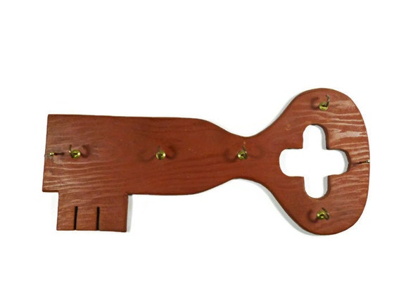 Key Holder Vintage Wood Handmade Key Holder Wall Decor Home