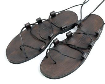 Leather Sandals - Gladiator