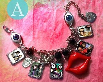 The Mighty Boosh  charm bracelet necklace