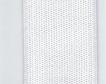 "5 yards of 1"" White Knit Elastic sku9300"