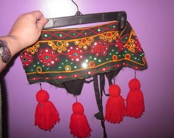 Tribal Belt with detachable tassels