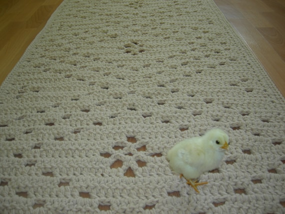 crochet square teppich rechteckig teppich deckchen l ufer. Black Bedroom Furniture Sets. Home Design Ideas