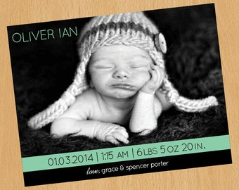 Birth Announcement - A2