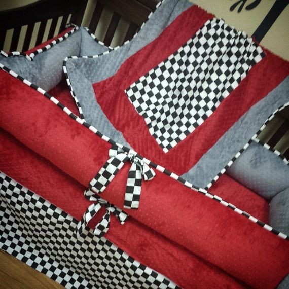 Checkered Flag Bedding Sets Images