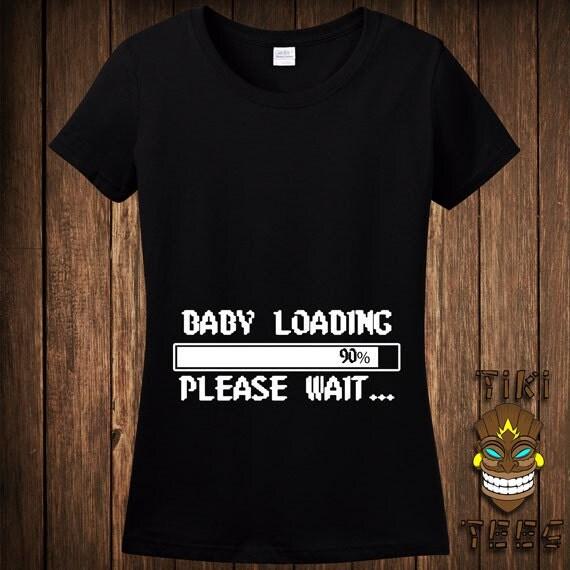 Conosciuto Gravidanza divertenti t-shirt Maglietta Premaman t-Shirt Baby ZL15