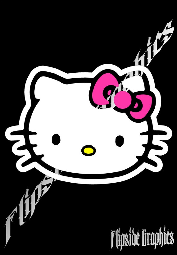 hello kitty decal from flipside graphix