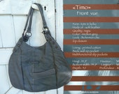 """mon """"Timo"""" *cabas  *hobo  *tote *soft leather"""