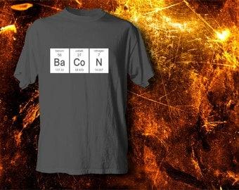 Periodic B.A.C.O.N!  Science Tshirts Made Fun!
