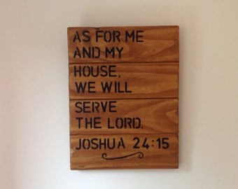 Inspirational Scripture Wooden Art.