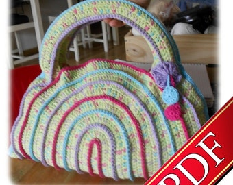 "PDF Crochet - Sac ""Vitamines"" - Tiamat Creations"