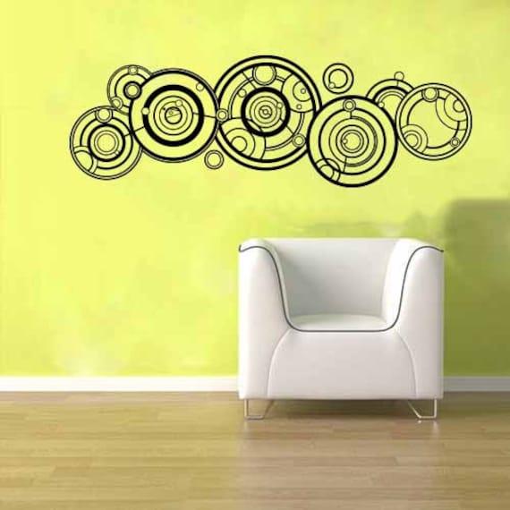 Doctor Who Gallifreyan Name Wall Vinyl Sticker Decal Mural