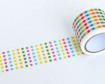 Color Pentagram Washi Tape
