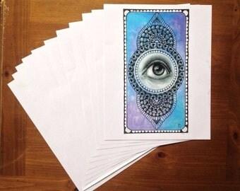 Eye Mandala - Print