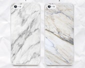 Marble phone case back cover for iPhone 4/4s 5/5s 5c, Samsung s4, s4 active, s5, s5 active, note 2, note 3 - white marble pattern case - N26