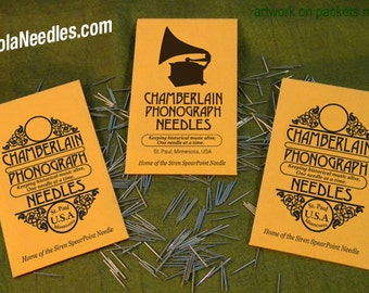 Gramophone NEEDLES for Vintage Victrola Phonograph 78rpm Shellac Records USA polished metal ETSY
