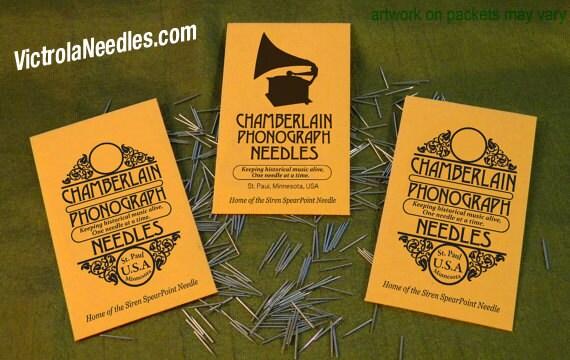 Gramophone NEEDLES for Vintage Victrola Phonograph 78rpm Shellac Records USA polished metal ETSY