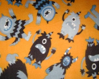 Little Monsters Kids Fleece Blanket
