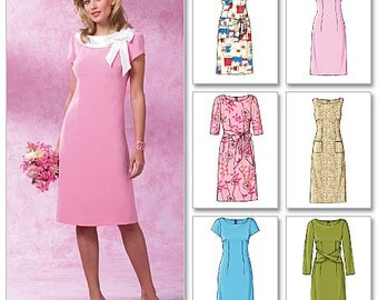 Butterick Sewing Pattern B4386 Misses'/Misses' Petite Sheath Dress