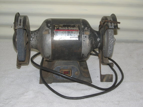 Items Similar To Vintage 1988 6 Quot Bench Grinder Ohio Forge