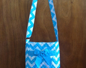 Small Chevron Crossbody Purse