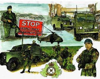 The RAF Regiment in NI