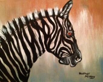 Zany Zebra!