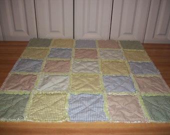 Ragged Baby Quilt
