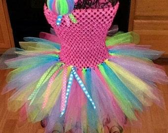 Neon Tutu Dress
