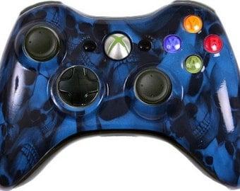 Custom Xbox 360 Controller - Skull Options