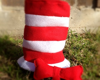 Dr Seuss Cat in the hat - Hat & Bow