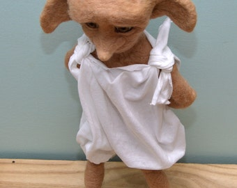 CUSTOM Needle Felted Art doll - 24 inches