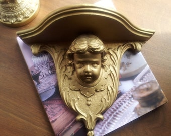 Gold Angel Sconce.........Made in England