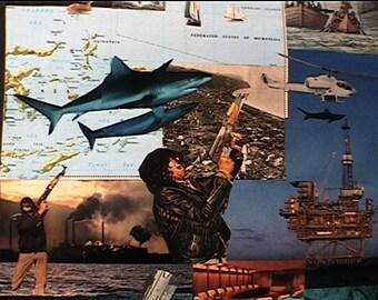 Handmade #collage #zines #Sciencefiction #Fantasy #Dystopia